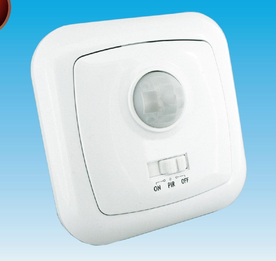 Sensor detector de movimiento presencia empotrable en - Luz sensor movimiento ...