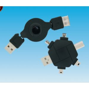 Set Cable Adapador USB, USB-IEEE para Mp3-Mp4.