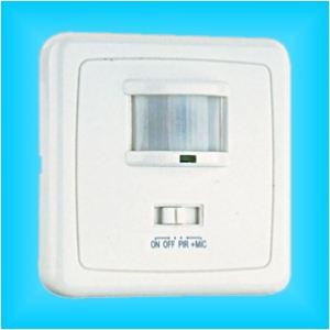 Interruptor Detector de Movimiento 2 Hilos con Sensor Empotrable en Cajetin
