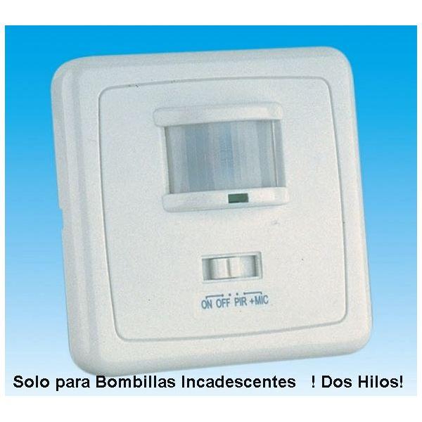Interruptor Detector De Movimiento Presencia Empotrable En Cajetin