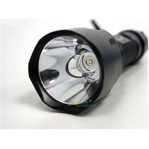 Linterna Led Recargable tactica con  345 lumen de Potencia (con LED CREE Q5).
