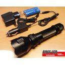 Linterna Recargable Led Potencia de 500 Lumen LED CREE K8