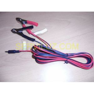 Cable 12 voltios  bateria para ahuyentador 60.299