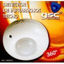Detector Sensor de movimiento de techo 360º 1200w, de superficie