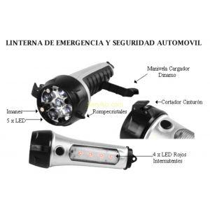 Linterna de Emergencia y Seguridad para AUTOMOVIL