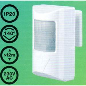 Detector de Movimiento Presencia orientable mini (PIR)