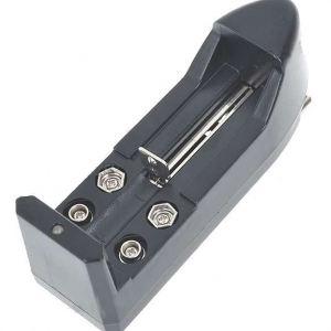 Multi cargador para pilas ICR123A, CR123A, LIR123A, 16340, 18650,
