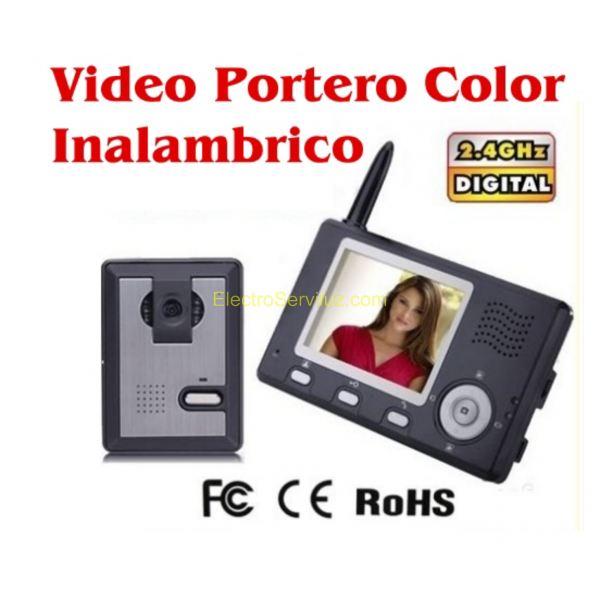 Videoportero inalambrico a color con pantalla 3 5 - Video portero inalambrico ...