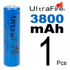 Pila/Bateria 18650 Recargable Litio 3800mah