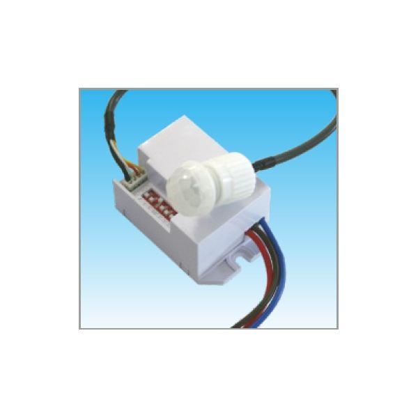 Mini Detector De Movimiento Presencia Para Luz De Empotrar Con Sensor 360 Empotrable En Techo Y
