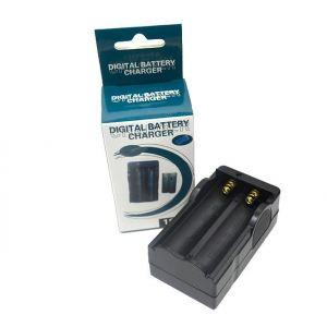 Cargador Pilas 18650 Litio-Ion Cargador Baterias 18650 Recargable Li-Ion
