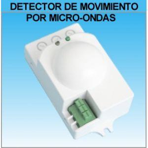 Detector de movimiento o presencia con sensor microondas - Detector de luz ...