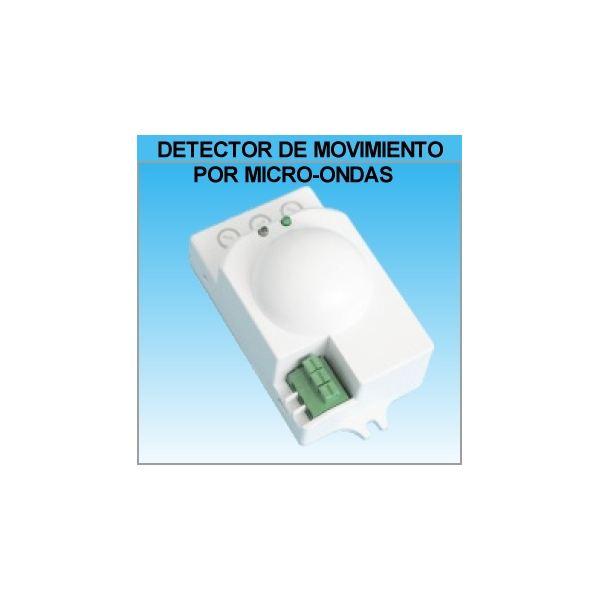 Detector de movimiento o presencia con sensor microondas - Detector de movimiento para luces ...