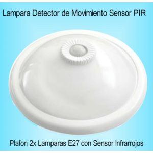 Plafon LED con Sensor de Movimiento Detector PIR