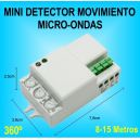 Mini Detector de Movimiento Sensor Radar Microondas para Luz