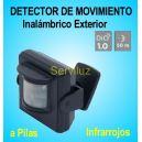 Detector Inalambrico Exterior DIO Sensor Infrarrojos a Pilas