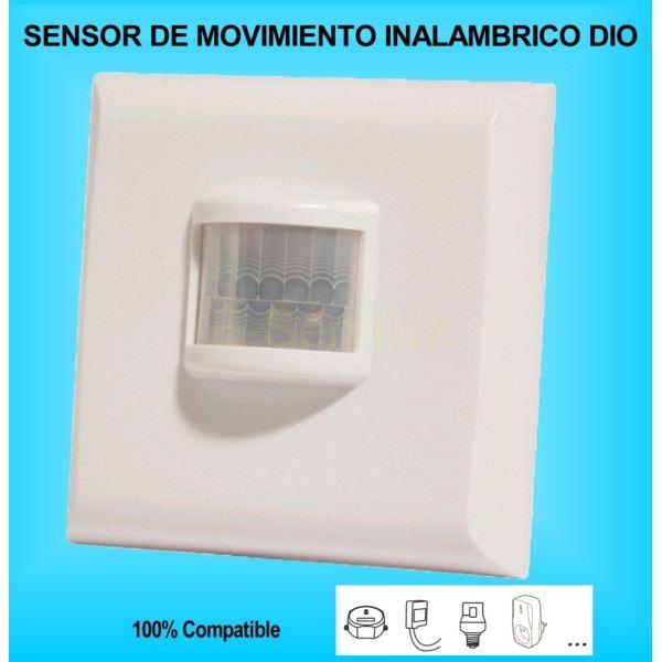 Sensor detector de movimiento inalambrico dio - Sensor de movimiento luz ...