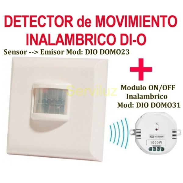 Interruptor detector de movimiento inalambrico rele on - Interruptor inalambrico luz ...