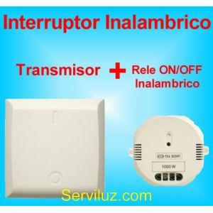 Interruptor Inalambrico + Rele de encendido