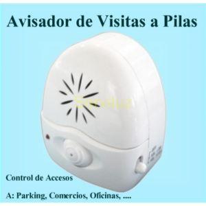 Avisador de Visitas con Sensor de Presencia Inalámbrico a Pilas