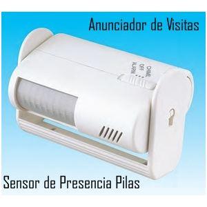 Anunciador de visitas y Alarma Sensor de Movimiento