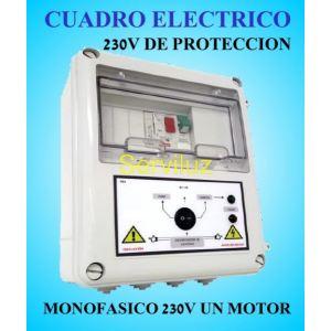 Cuadro Eléctrico para Motor y Bomba a 220v-230v 0.33-050HP Monofásico