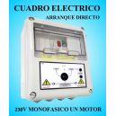 Cuadro Eléctrico para Motor y Bomba a 220v-230v 3 HP CSD1-205