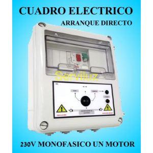 Cuadro Eléctrico para Motor y Bomba a 220v-230v 3 HP Monofásico