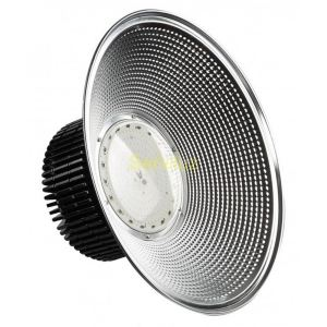 Campana LED Industrial Profesional 200W SMD 3030-3D Negra 6000K