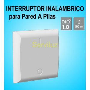 Interruptor Inalámbrico a Pilas para pared DIO