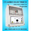 Cuadro Eléctrico Protección Bombas con Motor 400V Trifásico 0.33 HP CSD-401