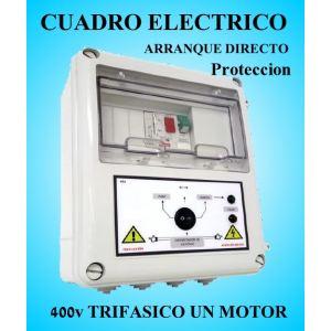 Cuadro Eléctrico Protección Bombas con Motor 400V Trifásico 1.50 a 2 HP CSD-404