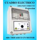 Cuadro Eléctrico Protección Bombas con Motor 400V Trifásico 7.50 HP CSD-408