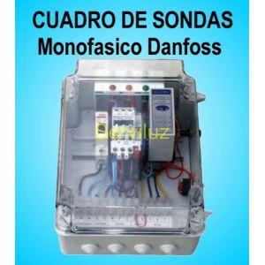 Cuadro de Sondas Monofasico para Motores Bombas Ajustable  0,75/1/1.5/2/3 Hp
