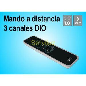 Mando a distancia de 3 canales (Emisor) DIO