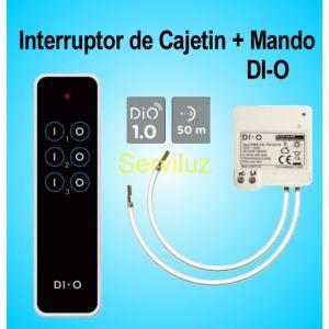 Mando a distancia y módulo Interruptor Inalambrico de Cajetin DIO