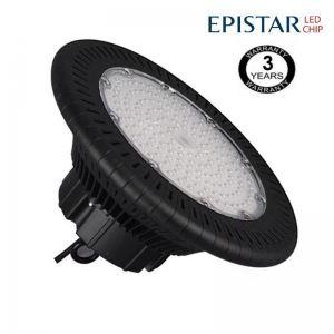 Campana industrial LED UFO 100W Epistar 3030-3D 125lm w IP65 6000K