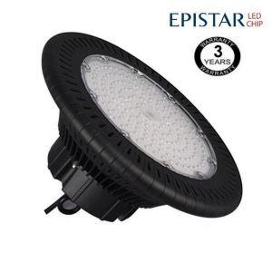 Campana industrial LED UFO 150W Epistar 3030-3D 125lm/w IP65 6000K