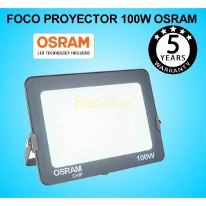 Foco Proyector LED 100W OSRAM IP65 4000K Exterior e Interior