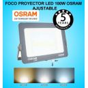 Foco Proyector LED 100W OSRAM IP65 Color Ajustable Exterior e Interior