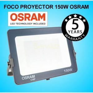 Foco Proyector LED 150W OSRAM IP65 6000K Exterior e Interior