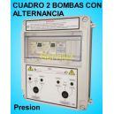 Cuadros 2 bombas en Alternancia Equipos Presion 1.50 HP Monofasico CSD-203