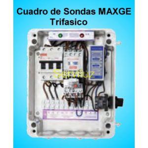 Cuadros de Sondas para bomba Sumergibles 3.00 HP Trifasico Pozo MAXGE