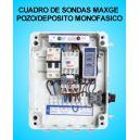 Cuadro de sondas 1 Bomba sumergible Pozo Deposito 1.50 HP Monofasico MAXGE