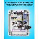 Cuadro de sondas 1 Bomba sumergible Pozo Deposito 1.50 2 HP Trifasico MAXGE