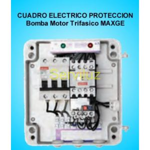 Cuadro Electrico Proteccion 1 Bomba Motor Trifasico 1 HP MAXGE