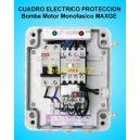 Cuadro Electrico Proteccion 1 Bomba Motor Monofasico 1.50 HP MAXGE