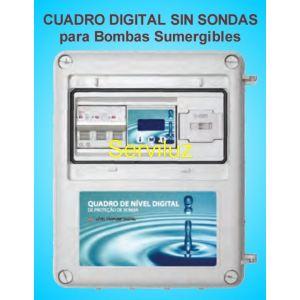 Cuadro de Nivel Digital para Bombas Sumergibles sin Sondas Trifasico de 0.50 a 7.5 HP