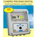 Cuadro Electrico Piscinas Digital con Control Obstruccion Skimers Cestillo 230V
