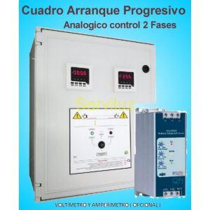 Cuadros de Arranque Progresivo Suave sobre 2 Fases 10.00 HP PSSR-403